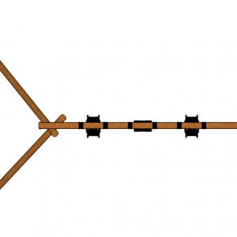 A503—Triple-Log-Swing-Extt-top-view
