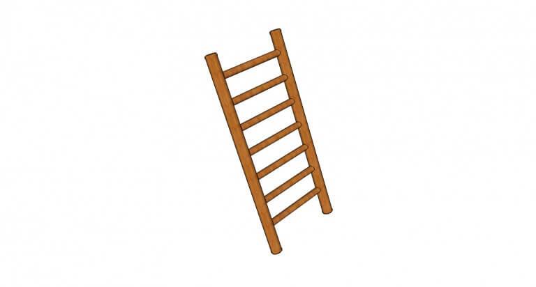 A510—Angled-ladder