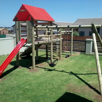 custom outdoor playground for kids
