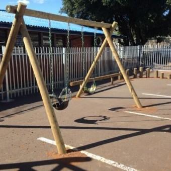 Double log swing
