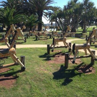 Giraffe Pony Rockers