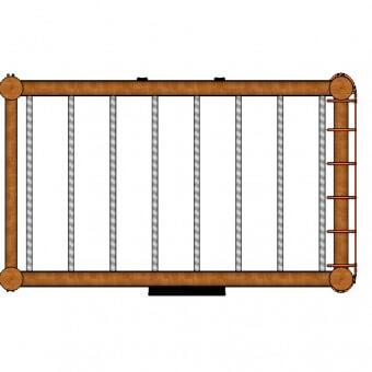 J103—Monkey-Bars—net-top-view