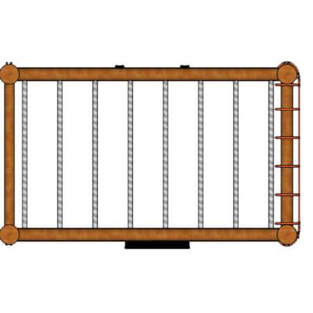 J103---Monkey-Bars---net-top-view