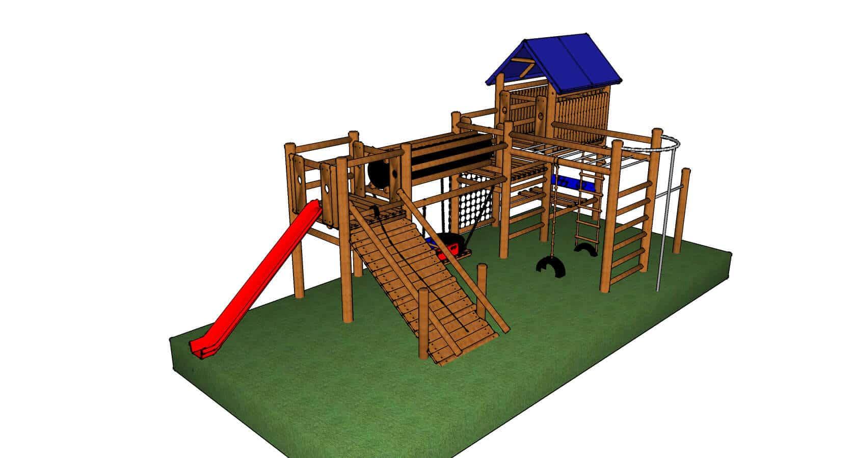power station 2 outdoor kids playground equipment kidbuddie. Black Bedroom Furniture Sets. Home Design Ideas