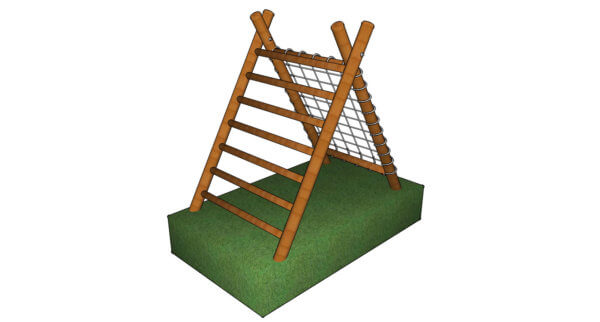 A-Frame Climber Ladder & Net