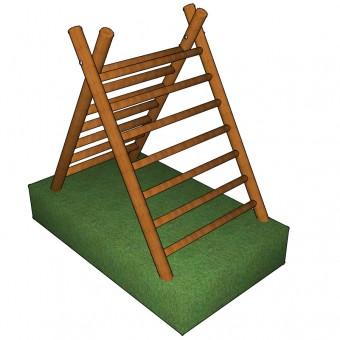 A-Frame Climber Double Ladder