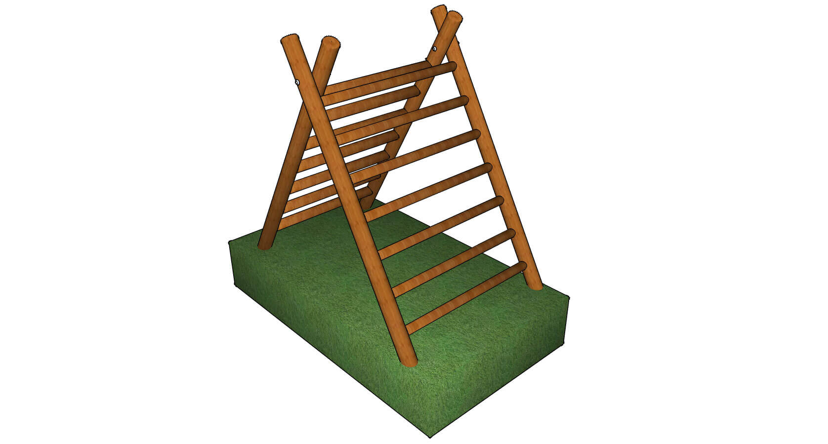 A-Frame Climber Double Ladder