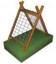 A- Frame Climber Double Net