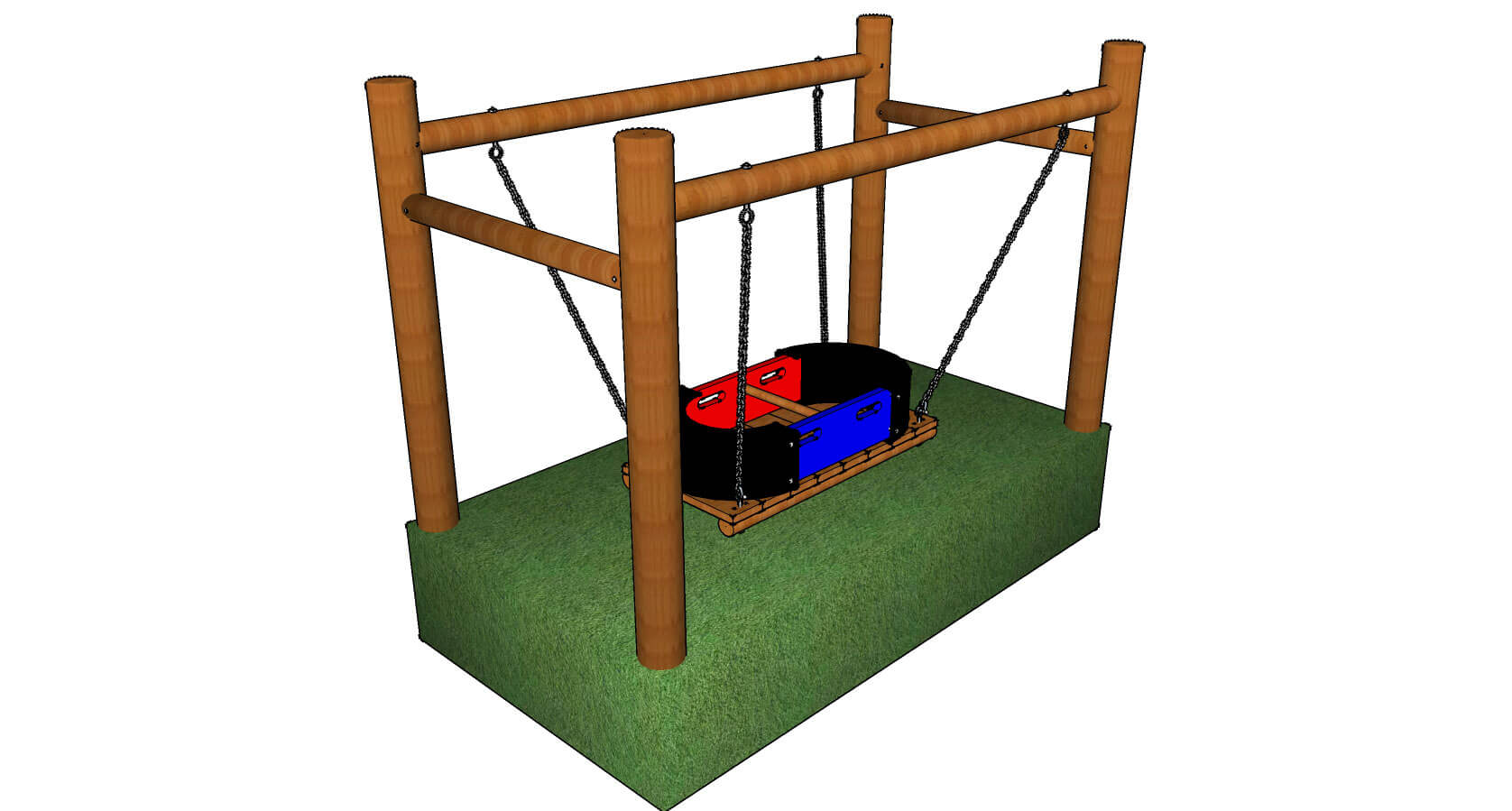 Swingboat on Frame