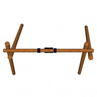 S301—Single-Log-Swing-top-view
