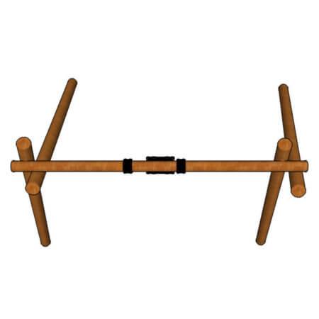 S301---Single-Log-Swing-top-view
