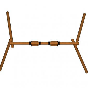S302—Double-Log-Swing-top-view
