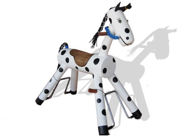 Spotty Pony Rocker