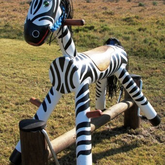 Zebra Pony Rocker