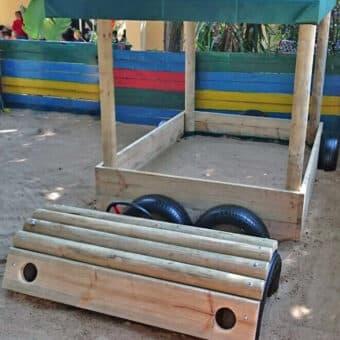 Sandpit Jeep