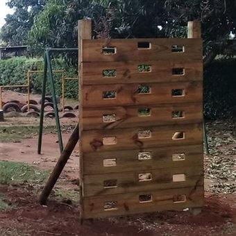Kids Vertical Climbing Wall-Kidbuddie
